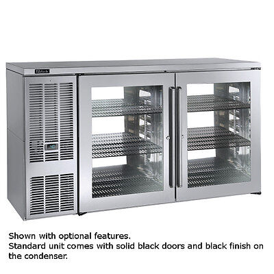 Perlick Pts60 60 Pass-thru 2-section Refrigerated Back Bar Cabinet