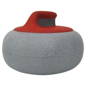 Curling Stone Foam Red/Grey Hat (New) Calgary Alberta Preview