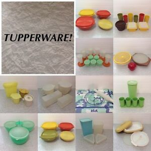 Tons of real Tupperware™