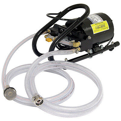 Heavy Duty Draft Beer Line Cleaning Pump - Commercial Bar Restaurant Hose Kit