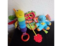 Baby Toddler Infant Toys Excellent Condition £1 Each Soft Buggy Lamaze Vtech £1