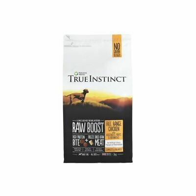 True Instinct Raw Boost Complete Dog Healthy Nutritious Food Range 5kg Bag