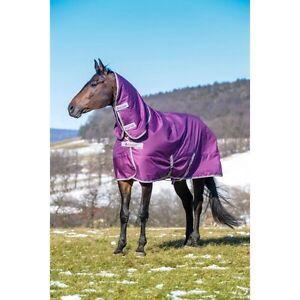 Purple Bucas Winter Turnout Blanket