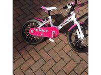 X2 girls bike