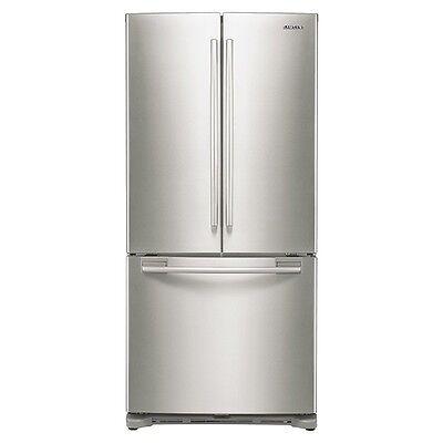 "Samsung 33""-Wide, 20 cu. ft. Capacity French Door Refrigerator  - RF20HFENBSP"