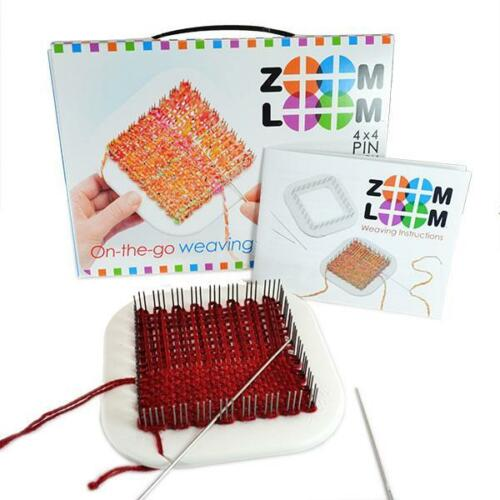 """Zoom Loom 4""""X4"""" Pin Loom From Schacht"""