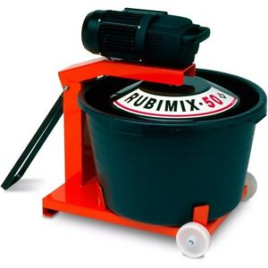 Portable RUBI Mortar Mixer with extra bucket Kingston Kingston Area image 3