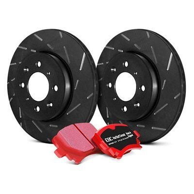 For Audi S4 2004-2008 EBC S4KF1161 Stage 4 Signature Slotted Front Brake Kit
