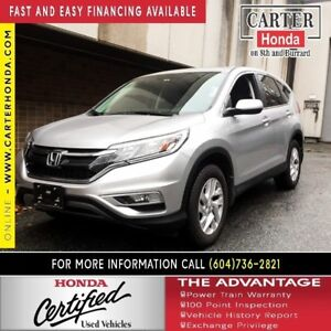 2016 Honda CR-V EX + CERTIFIED 7YR/160K + YEAR-END CLEAROUT!