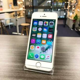 PRE OWNED IPHONE 5S 16GB SLIVER UNLOCKED WARRANTY INVOICE