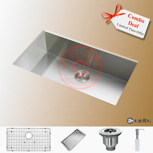 "29"" Comtemporary Style Stainless Steel Ktchen Sink / Free Stuff"