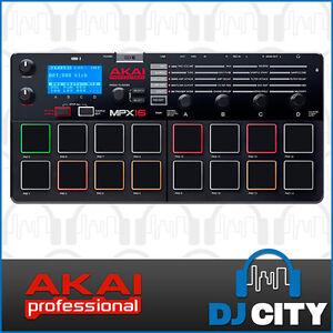 Akai MPX16 MPC Pad Sampler Recorder and MIDI Controller with SD Card input DJ...