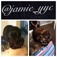 Mobile Hairstylist (Special Occasions) Calgary & Surrounding