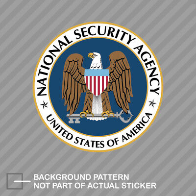 National Security Agency NSA Sticker Decal Vinyl covert