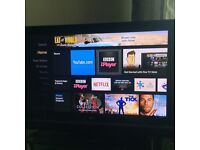 "40"" LG FLAT SCREEN SLIM HD TV"