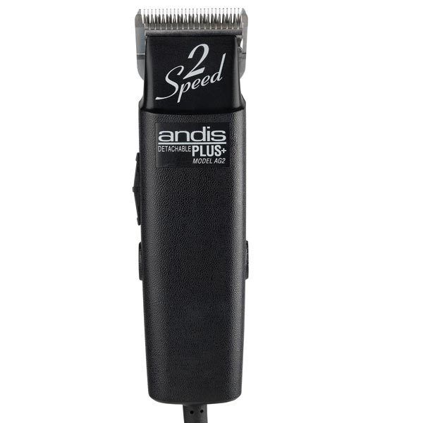 Andis AG Plus 2-Speed Clipper With #10 Blade Quiet Running M