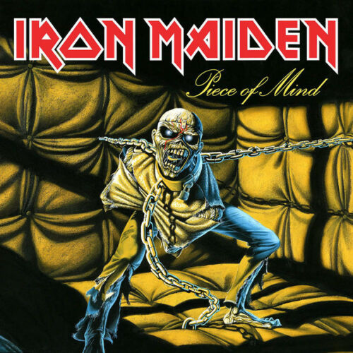Iron Maiden ‎– Piece Of Mind  / Cd With Booklet
