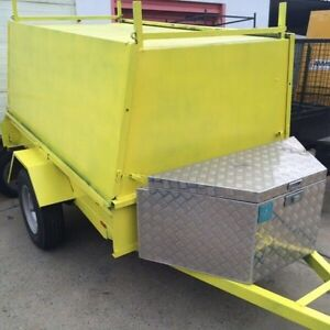7 x 5 Tradesmen Trailer with Shelvings, Toolbox & Jockey Wheel Gosnells Gosnells Area Preview