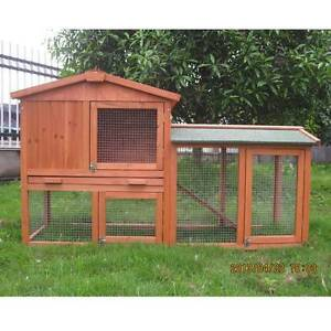 ♥♥♥♥ RABBIT HUTCH / CAGE DOUBLE ROOF  ♥♥♥♥ Londonderry Penrith Area Preview