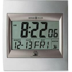 Howard Miller, MIL625236, Radio Control LCD Alarm Clock, 1
