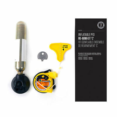 Automatic Inflatable Re Arm (Mustang Automatic Inflatable Auto Hydrostatic HIT PFD Re-Arm Kit 33g CO2 Refill )