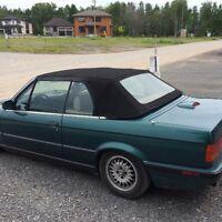 1991 BMW 3-Series Cuir Cabriolet