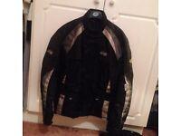 """RST Textile motorbike jacket 46"""" chest LARGE"""