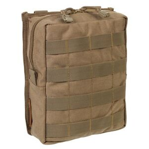 End of Line SALE TAS - Large MOLLE Utility Pouch - Coyote Tan