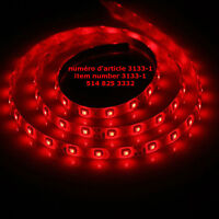 1M Red NON-Waterproof 3528 SMD 60 leds 12V Cuttable DIY LED Stri