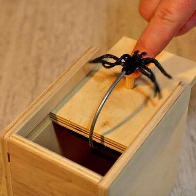 New Prank Scare Box Toys Harmless Stuff Shocking Scary Surprise Wooden Halloween - Halloween Scare Pranks