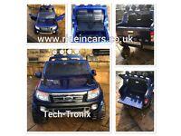Back In Stock Ford Rangers 12v In Met Blue, White, Red,Orange