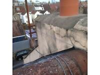 Parapet wall repairs & roofing