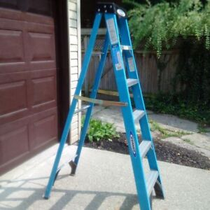 werner 250lbs 6foot ladder - excellent condition