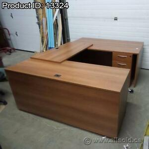 U-Suite Office Desks, Assorted Brands and Styles, Starting at $625 each