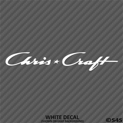 Chris Craft Boats Car/Truck Decal Outdoors Sports & Boating - Choose Color