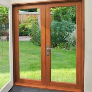French Doors - Solid Timber