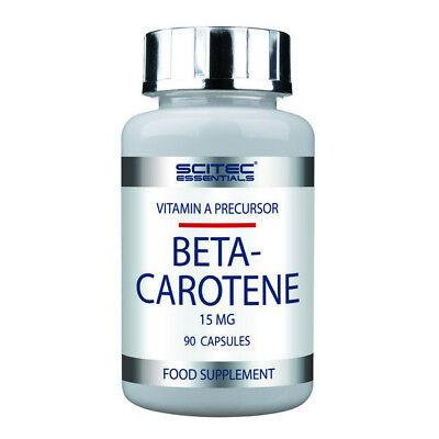 SCITEC Essential Beta Carotene 90 capsule - AMINOACIDI BCAA