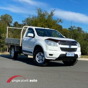 2015 Holden Colorado RG MY15 LS White 6 Speed Sports Automatic Cab Chassis Chevallum Maroochydore Area Preview