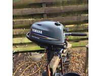 Yamaha 4hp 4 stroke Longshaft outboard