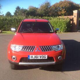 Mitsubishi l200 Trojan 2011 (61) red