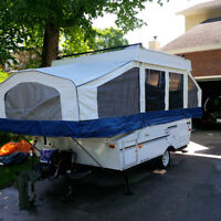 Palomino 8ft Tent Trailer - SOLD
