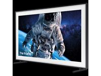 ***BROKEN SCREEN*** Samsung The Frame 55 Inch QE55LS03T Smart QLED TV with HDR