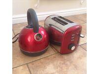 Breville Red kettle toaster kitchen goods