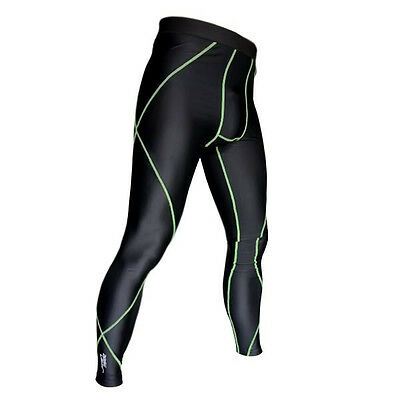 c32835014cd71c SMALL COMPRESSION SKINS LONG PANT | GYM CYCLING RUNNING EXERCISE SPORT BIKES