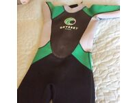 Child's wetsuit. Approximate age 9