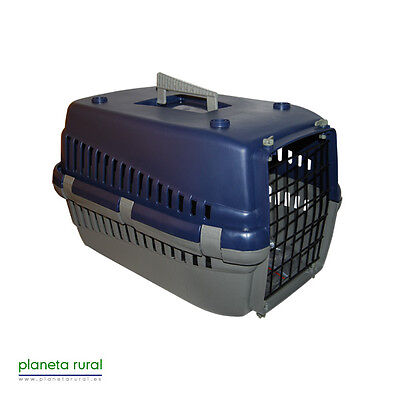 Transportin Perro Gato Económico Pequeño AZUL
