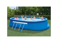 20ft by 12ft swimming pool