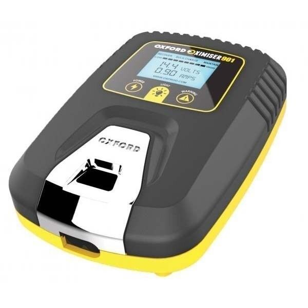 Oximiser900 12VBattery charger for motorbikes and other batteries