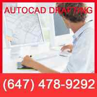 CAD Drawing | Drafting Services | Permit Drawings | 3D Rendering