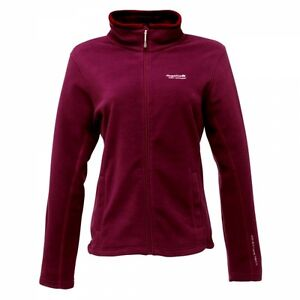 LADIES REGATTA FULL ZIP FLEECE JACKET SIZES 10-22 clmce
